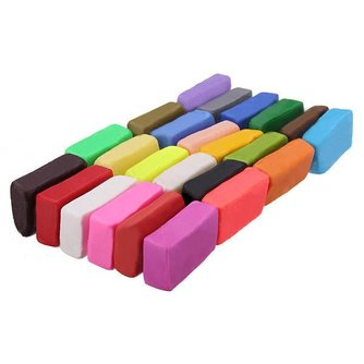 Polymeerklei (24 Kleuren)