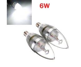 Witte Dimbare LED kaarslampen