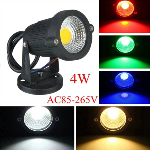 led verlichting voor buiten in verschillende kleuren