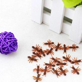 Halloween Nepmieren van Plastic 10 Stuks