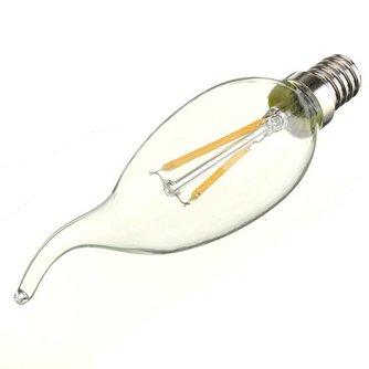 E14 LED Kaarslamp In Twee Kleuren