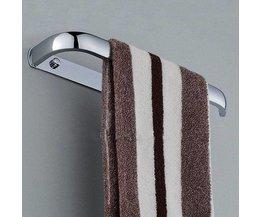 Roestwerende  Handdoekrek voor tegen de muur