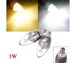 Kaars E12 LED Lamp 3W
