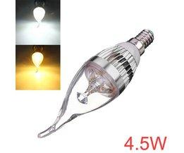 Kaars voor E14 Lampfitting
