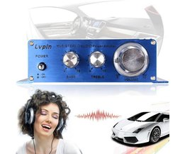 Versterker Voor MP3 Speler In De Auto