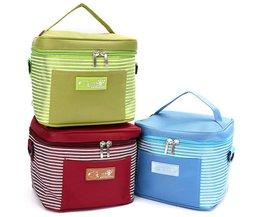 Thermische Lunchbox voor picnick in verschillende kleuren