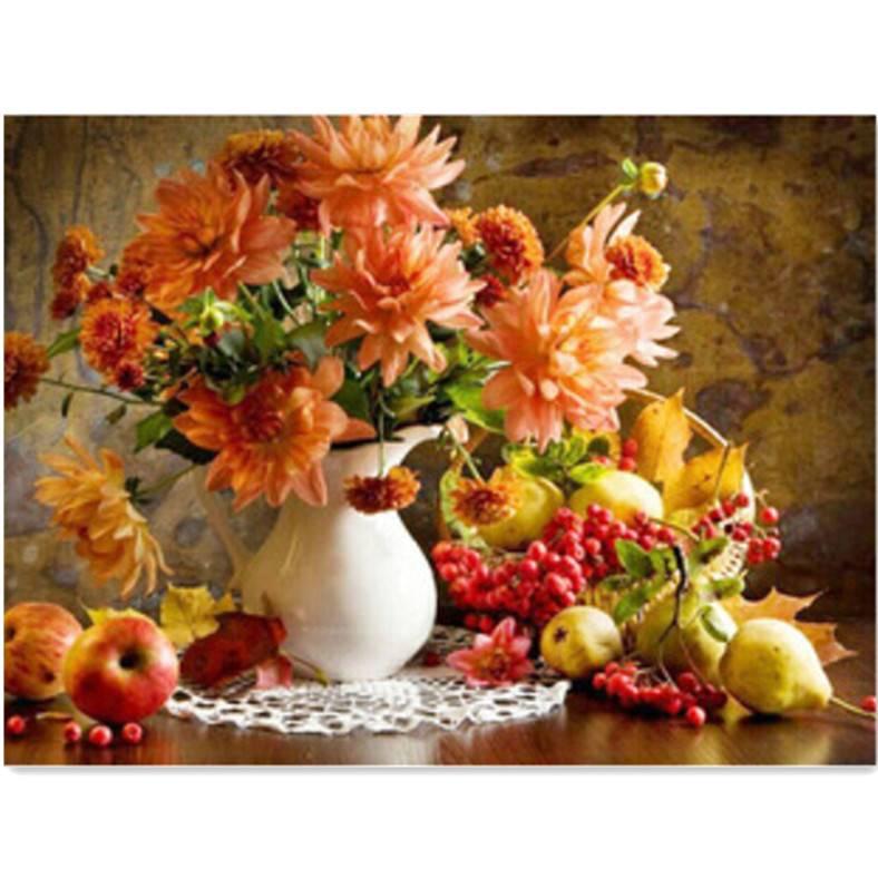 schilderen op nummer met bloemen kopen i myxlshop tip. Black Bedroom Furniture Sets. Home Design Ideas