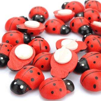 Lieveheersbeestje Koelkast Stickers 10 Stuks