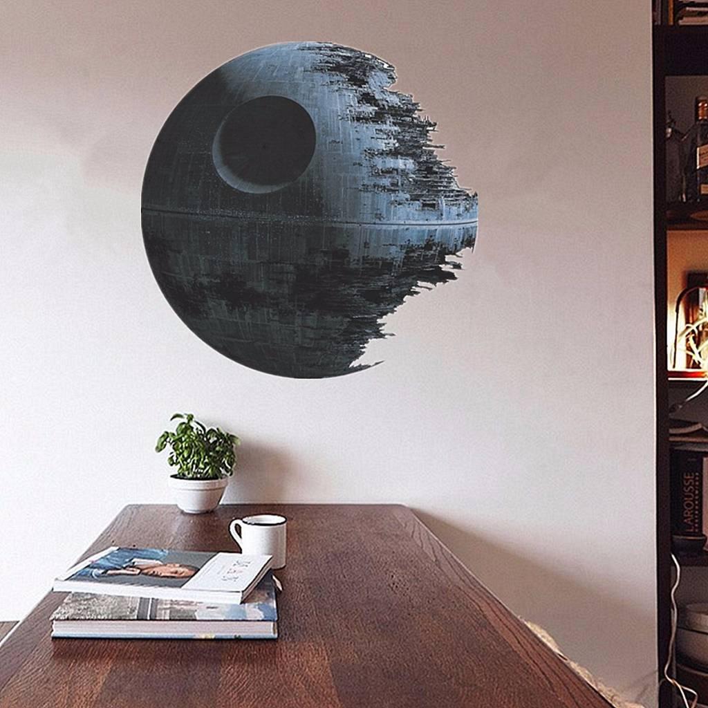 Decoratie Sticker Death Star Star Wars