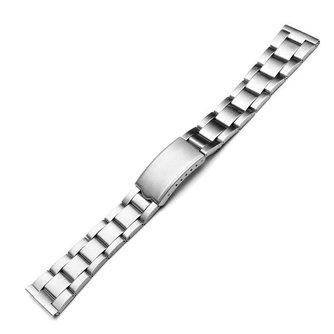 22mm Horlogeband van Roestvrij Staal Lasha D1021