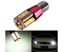 T10 LED Canbus Autolamp 3014 56 SMD DC12/24V Wit