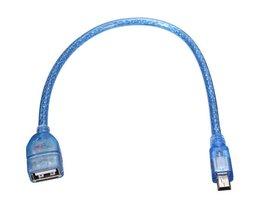 Micro-USB naar USB Adapter 30cm
