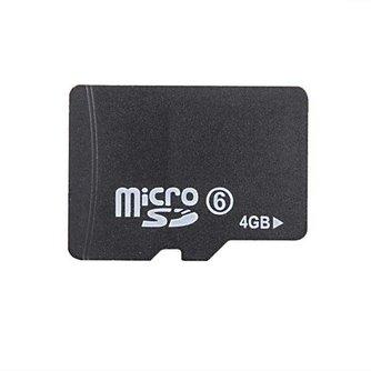 Micro SD 4GB Geheugenkaart