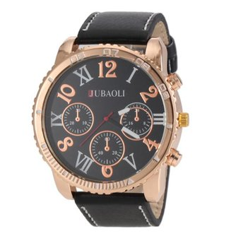 JUBAOLI Watch PU Leer