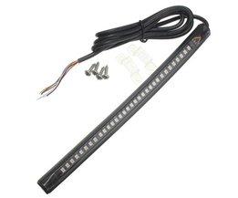 LED Achterlicht met Knipperlicht Motor