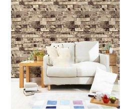 Stenen Muur Behang 3D 10M