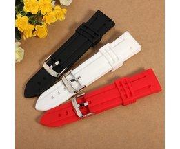 Siliconen Horlogebandje (20-24mm)