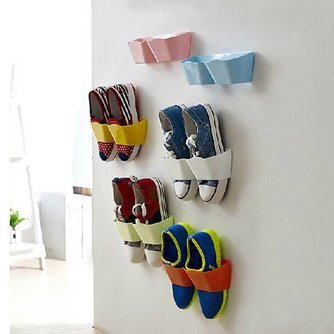 Schoenenhouders voor Muur