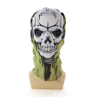 Masker Met Afbeelding Van Schedel