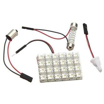 Auto Binnenverlichting 12 Volt Wit LED Licht