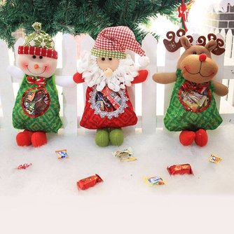 Leuk Snoepzakje voor Kerst