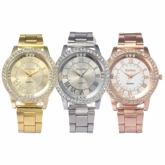Horloge met Steentjes