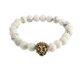Man Armband met Leeuw