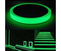 Lichtgevende Glow in the Dark Tape 1M