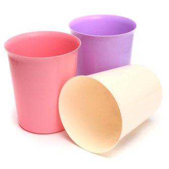 Handig Plastic Afvalbakje / Prullenbak