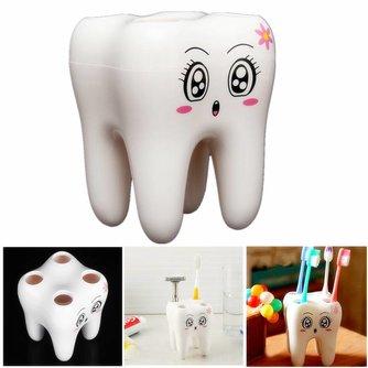 Leuke Tandenborstelhouder voor 4 Tandenborstels