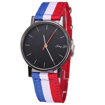 Horloge met Canvas Band