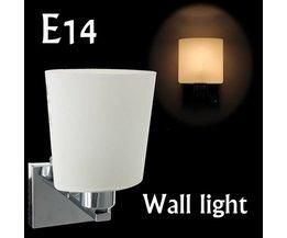 Modern Muurlampje Met E14 Fitting
