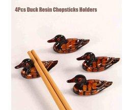 Chopstick Houder in Vorm van Eend