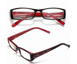 Dames Leesbril Rood