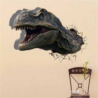 Muursticker met Dino