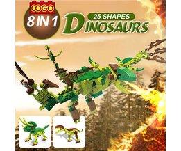 8 in 1 Cogo Dinosaurus Speelgoed