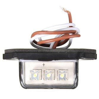 LED Nummerplaatverlichting