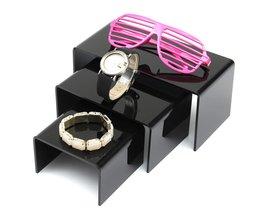 Acryl Armband Sieradenhouder 3 Stuks