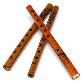 Traditionele Bamboefluit met 6 Vingergaten