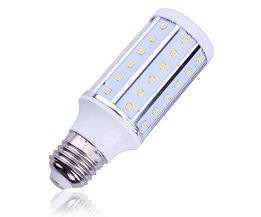 E27 10W LED Lamp met Wit Licht