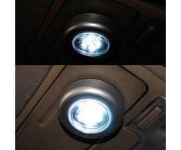 Druk Lampje 4LED voor Camping Badkamer Auto