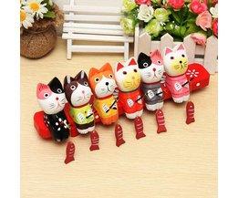 Houten Decoratie Katten