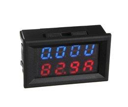 Digitale volt/amperemeter auto