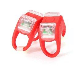 Fietslampjes LED Silicone Wit Licht