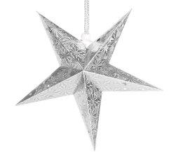 Papieren Pentagram Hanger In Meerdere Kleuren En Maten