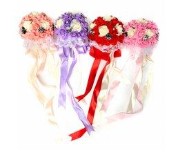 Bruidsboeket met Kunstbloemen