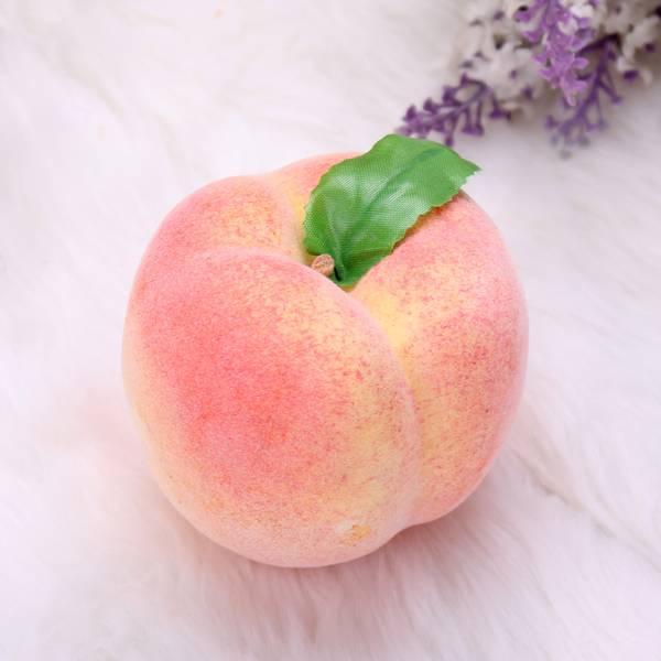 Kunstfruit ter Decoratie: Perziken (5 Stuks)