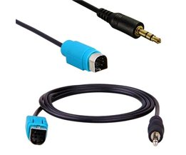 Alpine AUX Kabel voor iPhone & Etc