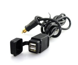 Autolader Dual USB 12-24V