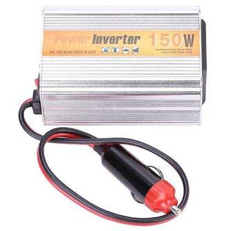 Auto Omvormer 150W DC 12V naar AC 220V